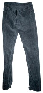 Bullhead Denim Co. Skinny Skinny Pants Dark grey corduroy pants