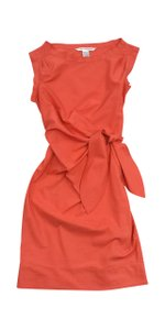Diane von Furstenberg short dress Gathered Waist on Tradesy