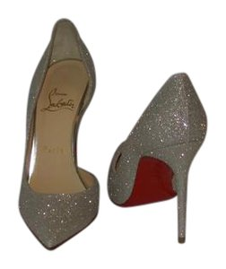 Christian Louboutin IVORY/ GOLD Pumps