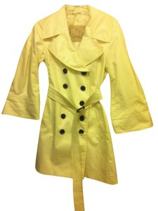 Burberry Belted Flare Trench Coat