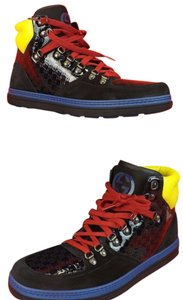 Gucci Black/Blue/Yellow/Red Athletic