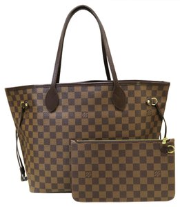 Louis Vuitton Brand New Damier Ebene Mm Shoulder Bag
