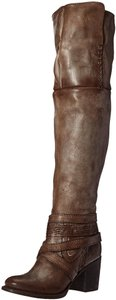 FreeBird Rodeo Over-the-knee Size 8 Leather Sale Stone Boots