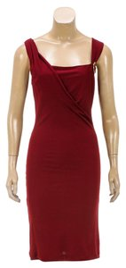 Gucci short dress Burgundy on Tradesy