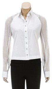 ALAA Button Down Shirt White