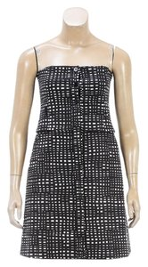 Theory short dress Black/White on Tradesy