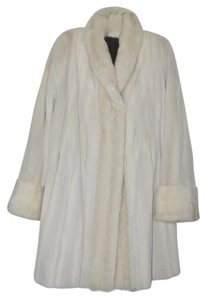 Other Mink Fur Tourmaline Reversible Fur Coat