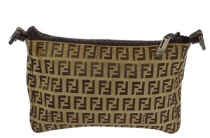 Fendi Vintage brown Clutch