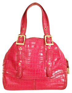 Maxx New York Satchel in red