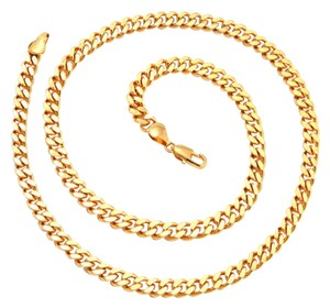 Other ** NWT ** 18K GOLD CUBAN CURB ( 6 MM / 20