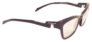 Mugler mugler black frame eyeglass sunglasses frames with prescription lens