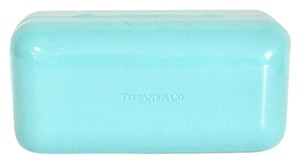 Tiffany & Co. Tiffany and co signature blue clamshell sunglasses case