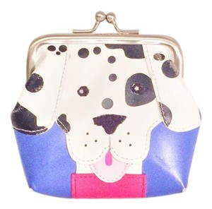 Wilsons Leather vintage leather patchwork puppy dog Wilsons leather maxima change purse