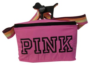 Victoria's Secret Cooler Lunch Tote Insulated Pink and Orange Beach Bag