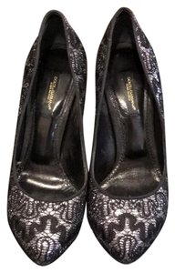 Dolce&Gabbana black/silver Pumps