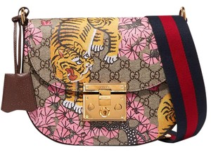 Gucci Padlock Bengal Printed New Shoulder Bag