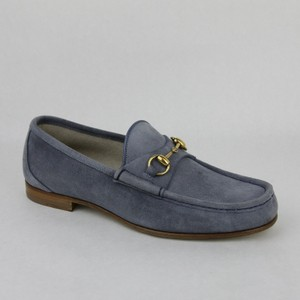 Gucci Gucci Men's Blue Suede Horsebit Loafer Gucci 11/us 11.5 307929 4710