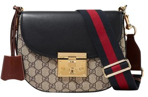 Gucci Padlock Printed New Gg Shoulder Bag