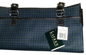 Ralph Lauren Plaid Satchel