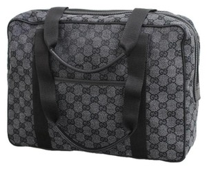 Gucci Gg Canvas Tote Laptop Bag