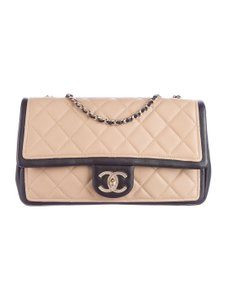 Chanel Flap Classic Graphic Chain Shoulder Bag