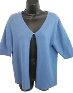 Lord & Taylor & Blue Cashmere Top