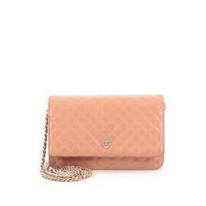 Chanel Wallet Goatskin Shoulder Bag
