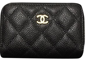 Chanel Brand New/Never Used Chanel Black Caviar Coin Purse