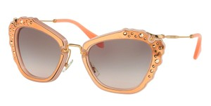Miu Miu NEW MIU MIU CAT EYE NOIR SUNGLASSES SMU 04Q TV14KO FREE 3 DAY SHIPPING