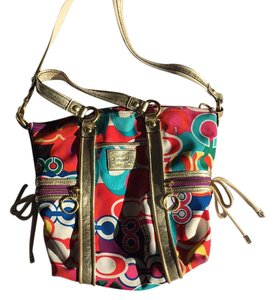 Coach multicolored Messenger Bag