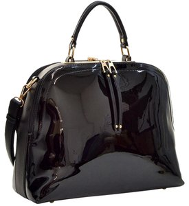 Other Classic The Treasured Hippie Large Handbags Vintage Satchel in Black