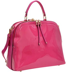 Other Classic The Treasured Hippie Large Handbags Vintage Satchel in Fuchsia