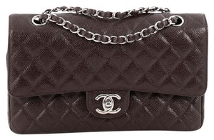 Chanel Double Flap Caviar Shoulder Bag
