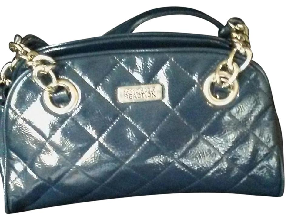 Kenneth Cole Rn 81633 A Rich Glossie Blue Pvc Shoulder Bag - Tradesy ae8af03172e6a