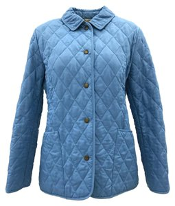 Burberry Quilted Classic Bright Blue Jacket