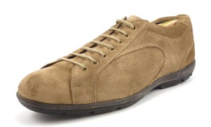 Prada Men's Suede Lace Up Sneakers