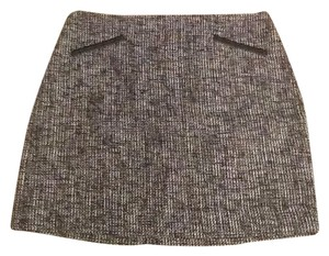 Banana Republic Mini Skirt Black White