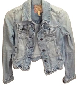Abercrombie & Fitch medium wash Womens Jean Jacket