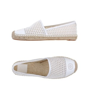 Tory Burch white Flats