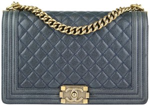 Chanel New Medium Gold Hardware Caviar Shoulder Bag