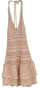 Moda International short dress nud on Tradesy