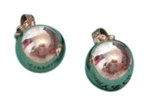 Tiffany & Co. * Tiffany & Co Sterling Silver Bead Earrings.