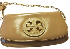 Tory Burch dark Sahara Clutch