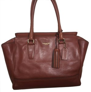 Coach Satchel in Brown, British Tan