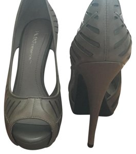 BCBGeneration Bcbg Taupe Sandal Open Toe Moss/taupe Pumps