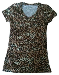 Wet Seal T Shirt Cheetah print