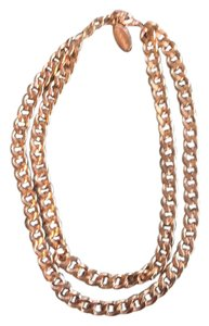 BaubleBar Rose Gold Double Chain