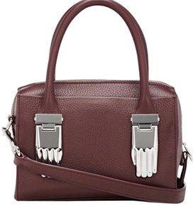 Opening Ceremony Leather Structured Cross Body Bag