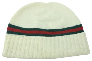 Gucci GUCCI 294731 Men's Wool with Web Beanie Hat M