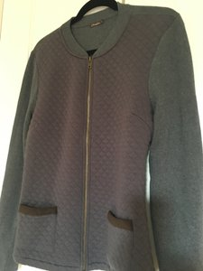 J.McLaughlin Quilted Jacket Quilted J. Sweater Cardigan